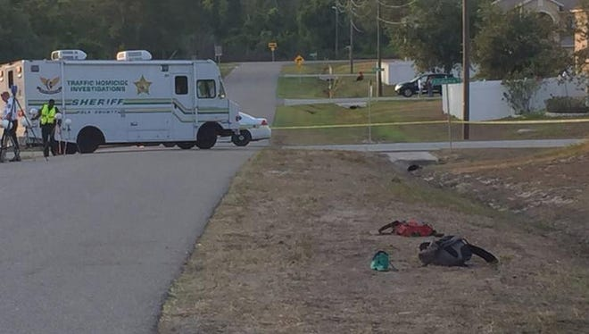 Polk County deputies were investigating a DUI hit-and-run crash that left 5 middle school students injured on Thursday.