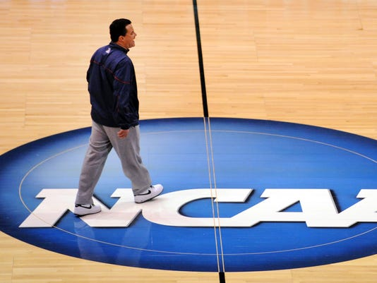 NCAA Basketball: NCAA Tournament-Arizona Practice