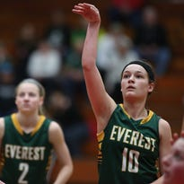 Maggie Negaard heads into her sophomore season after being one of SPASH's leading scorers and rebounders last year.