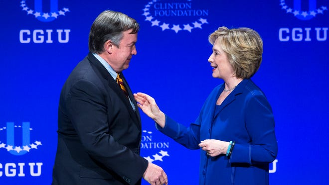 In such tough times, ASU and President Michael Crow have no credible rationale to pay $500,000 for what amounted to Hillary Clinton's coming-out party for a White House run.