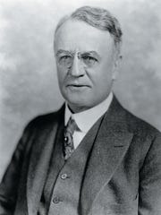 U.S. Diplomat Dwight Whitney Morrow is buried in Brookside Cemetery in Englewood.