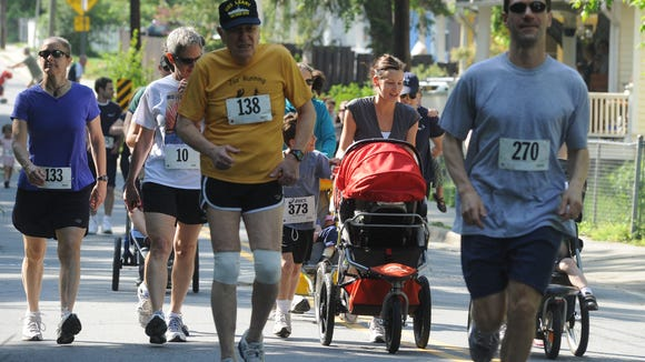 Hundreds are expected to participate in the Asheville Jewish Community Center's  fifth annual Falafel 5K this Sunday.