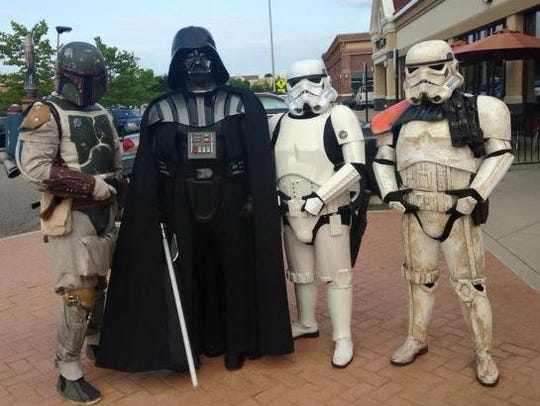 A force from the 501st Legion will be strolling the