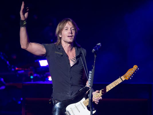 Keith Urban Concert at Klipsch Music Center