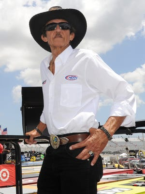Richard Petty at Dover International Speedway on Saturday