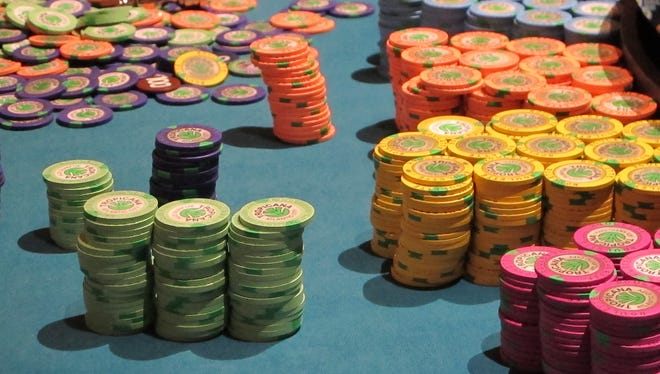 Revenue for Atlantic City's casinos declined slightly in March.