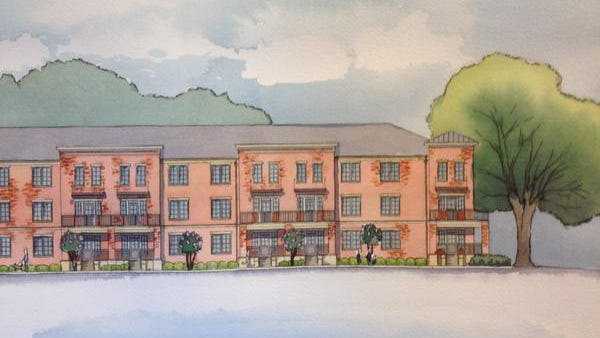A 48-unit apartment complex is expected to be built in Old Cloverdale at the corner of Boultier Street and East Fairview Avenue.