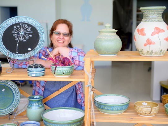Cindy Eve owns Eve Pottery at 800 5th Ave. S.