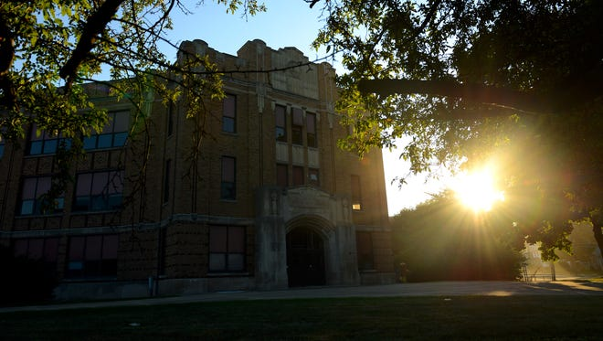 The long-vacant former Walter French Junior High School will be redeveloped into a mixed-use residential building after being donated to the Capital Area Housing Partnership.