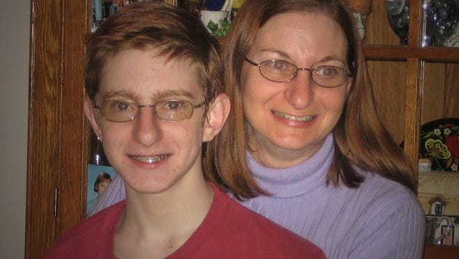 Jane Clementi with her son, Tyler, who took his own life after being cyber bullied.