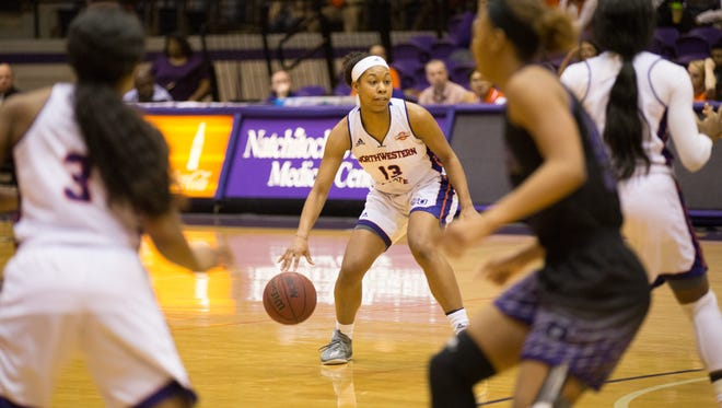 NSU sophomore forward Victoria Miller scored a career-high 12 points and added three steals, but Central Arkansas pulled away late Saturday as Northwestern State fell 61-53 at Prather Coliseum Saturday, Jan. 27 2018.