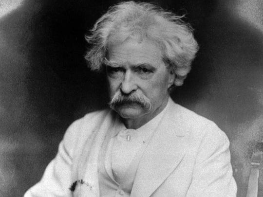 Author Mark Twain spent his boyhood years in Hannibal, Missouri.