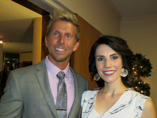 Will and Brianna Rose at Crews-Brando wedding reception.