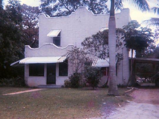 The Hartman home on Stypmann Avenue.