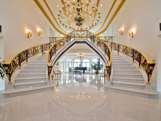The Foyer Inside This Mansion Is Made Of Marble Photo Rubenstein PR