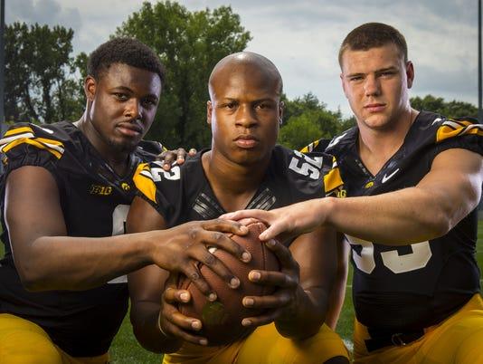 Iowa Linebackers 2014