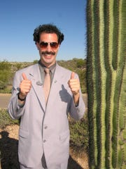 Sacha Baron Cohen stars as intrepid reporter 'Borat,'