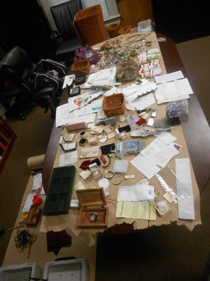 The Fairfield County Sheriff's Office and Major Crimes Unit recovered stolen property from three men allegedly involved in a burglary ring on Tuesday.