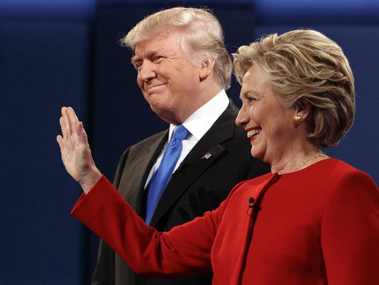 Donald Trump,Hillary Clinton