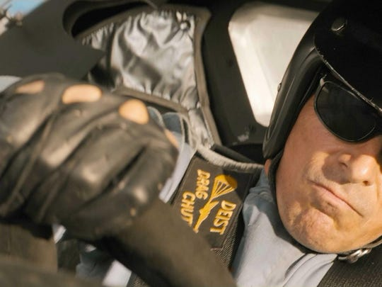 """Christian Bale stars as gifted but eccentric driver Ken Miles in the car-racing drama """"Ford v Ferrari."""""""