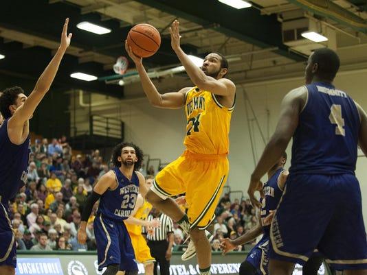 Western Carolina vs. Vermont Men's Basketball CBI 03/16/16