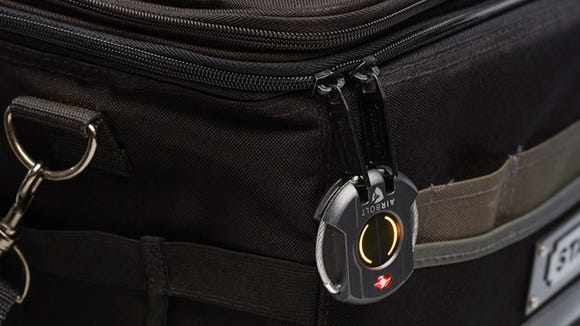 AirBolt is a smart travel lock that can be opened by