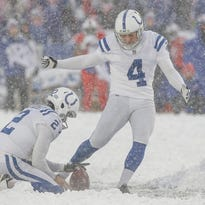 Adam Vinatieri on the most impossible extra point ever