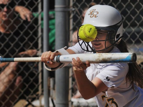 La Reina's Olivia O'Neal was named the softball MVP of the Tri-Valley League.