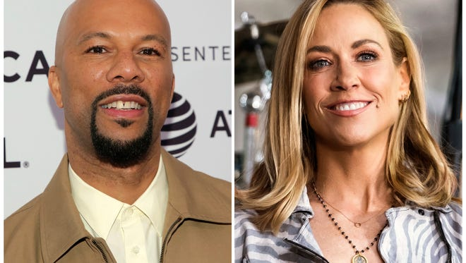 Common, left, and Sheryl Crow are two of the 16 members of a new task force organized by the Grammys.