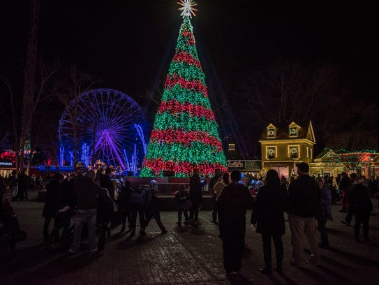 More than a million lights can be seen at Holiday in
