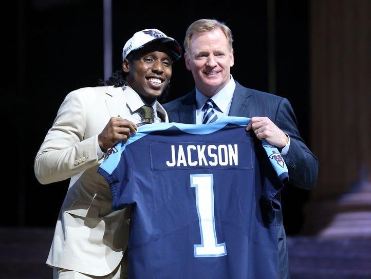 Apr 27, 2017; Philadelphia, PA, USA; Adoree' Jackson