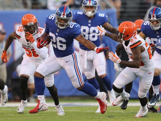 best service e1897 4d40f Thursday's NFL: Baker Mayfield and Saquon Barkley show the goods