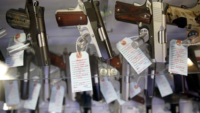 Stolen guns in Missouri