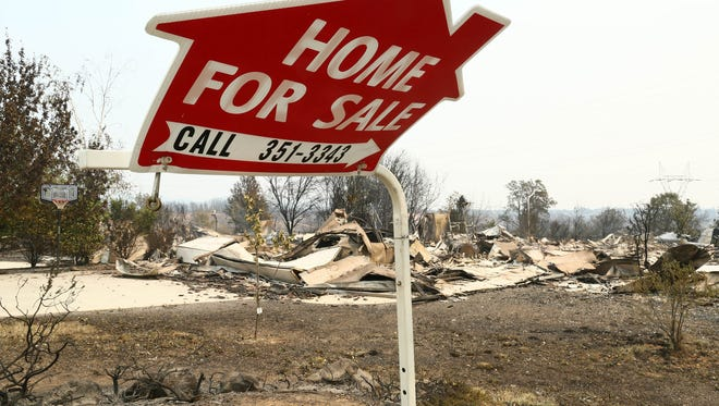 Aftermath of the Carr Fire in Redding. Evacuees returned after the fire to clean up their residences in Mary Lake. House burned down in the areas of Quartz Hill Road and Keswick Dam Road, and along the Sacramento River by Keswick Dam. ( Hung T. Vu/Special to the Record Searchlight)