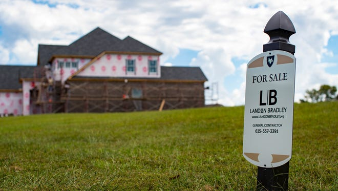 Houses continue to be built in Gallatin, including in the Foxland Harbor golf community.