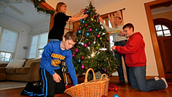 The Louisiana fire marshal reminds residents to exercise caution when putting up holiday decorations.
