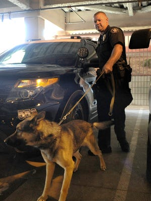 Want to meet a police dog? Several officers, K-9 units and SWAT teams will participate in National Night Out.