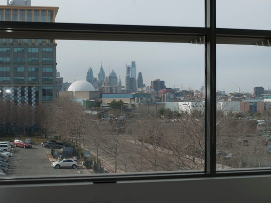 View inside from the 200 Technology Center building