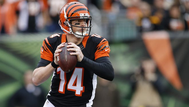 Cincinnati Bengals quarterback Andy Dalton was having an MVP-caliber season in 2015 before it was ended early with a thumb injury.