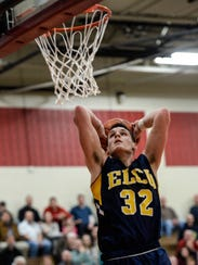 Led by senior forward Colton Lawrence, the Elco boys