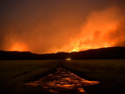 AP MONTANA WILDFIRES A USA MT