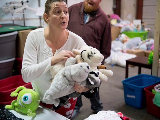 Erica Lively, a foster mom and volunteer at Borrowed