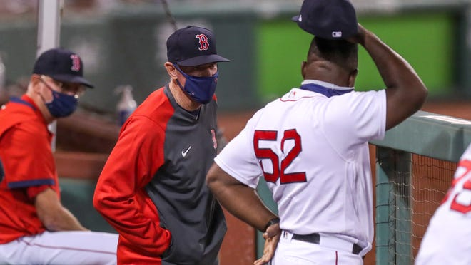 This 2020 season has been a challenge in so many ways for Red Sox manager Ron Roenicke and his coaching staff.