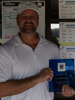 Paul Bickford of Runnemede won the Camden County Amateur Golf Tournament in a playoff on Monday.