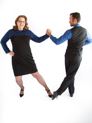 New Mexico State University professor Barbara Chamberlin and NMSU DanceSport student Keith Salais will perform during the 10th season of Look Who's Dancing! on Sunday.