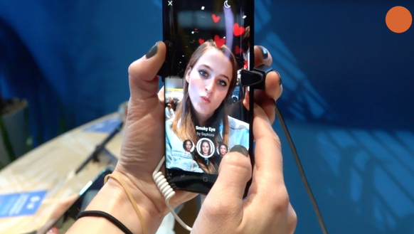 Facebook's new augmented reality app for Sephora makeup