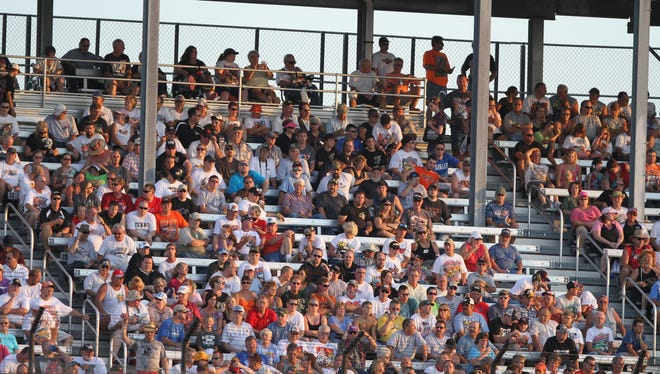 """Knoxville Raceway general manager Brian Stickel's 1o-year run at """"The Sprint Car Capital of the World"""" will end next month."""