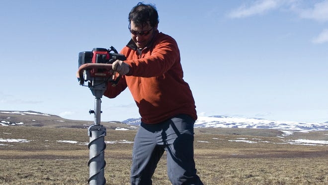 Studying climate change at the top of the world: Q & A with Matthew Wallenstein