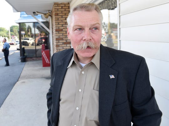 In this file photo, Waynesboro Police Chief James Sourbier