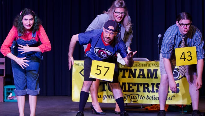 """""""The 25th Annual Putnam County Spelling Bee"""" starts the competition at 2:30 p.m. and 7:30 p.m. Friday through June 17 at the Leaf Theatre, downtown Quincy."""